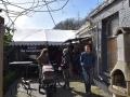 069 Noordernieuws - Paasmarkt Essen 2016 - Tent met live muziek bij Café De Voerman