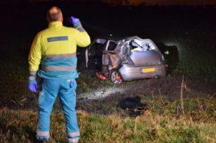 Automobilist gewond bij ongeval op Buntweg