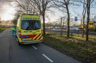 Meerdere ongelukken op de A58 bij Wouw