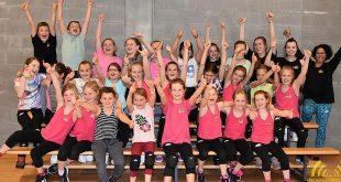 Flitsende uitvoering Danskamp Myrelles Dance Studio