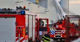 Brand bij kunststofbedrijf Polytec in Roosendaal