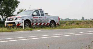 Wegdek komt omhoog op de N262 tussen Roosendaal en Nispen