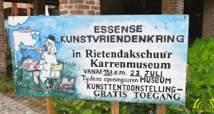 Essense Kunstvriendenkring exposeert in inkomhal Karrenmuseum