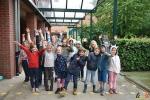Alle Leerlingen Lagere School College Essen weer aanwezig - corona-tijd - (c) Noordernieuws 2020 - HDB_1336
