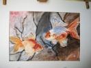 Aoi Wongwat - Hobby Kunstschilderen - Olieverf Schilderij Vissen 13s - (c) Noordernieuws.be 2020