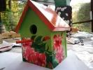 Aoi Wongwat - Hobby Kunstschilderen - Vogelhuisje 1 s - (c) Noordernieuws.be 2020