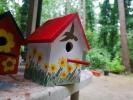 Aoi Wongwat - Hobby Kunstschilderen - Vogelhuisje 2s - (c) Noordernieuws.be 2020