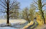 Lisette-Brosens-Hobby-kunstschilderen-Rievier-in-winter-c-Noordernieuws.be-HDB_4845s990