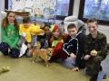 103 Leerlingen Freinetschool Essen vieren hondje Lewis 3 jaar - (c) Noordernieuws.be 2019 - HDB_2055