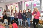 Leerlingen Instituut Heilig Hart steunen Think Pink