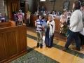 15 Leerlingen Mariaberg zingen de sterren van de hemel in OLV Kerk - Essen - Noordernieuws.be - DSC_4882