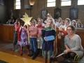 17 Leerlingen Mariaberg zingen de sterren van de hemel in OLV Kerk - Essen - Noordernieuws.be - DSC_4884