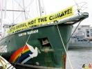 109 Greenpeace - Rainbow Warrior doet Antwerpen aan - (c) Noordernieuws.be - 09