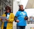 139 Greenpeace - Rainbow Warrior doet Antwerpen aan - (c) Noordernieuws.be - 39