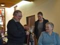 Nieuwjaarsreceptie dienstencentrum - Rick de Backer gehuldigd voor vrijwilligerswerk