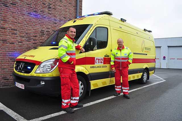 De ambulancedienst en zijn vrijwilligers