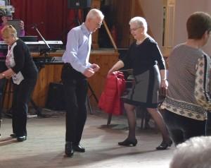 Irene Buermans en Willy Rennen zijn onvermoeibare dansers