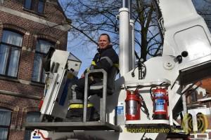Jeroen Druyts  is al 18 jaar vrijwillig brandweerman