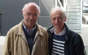 Met zanger Erik Van Neygen die bevriend raakte met Jan