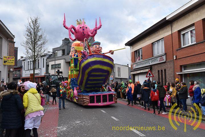Laatste dag van carnaval