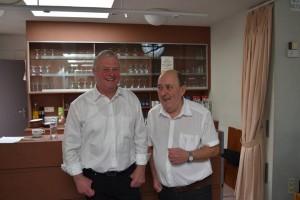 Gust Nelen (l) en Maurice Roomer