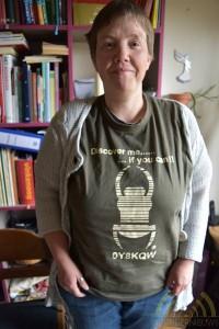 T-shirt met unieke code