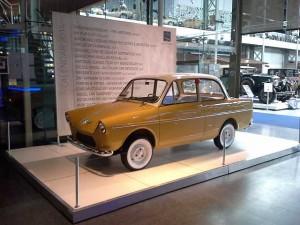Daf 600 uit 1960 in het automuseum van Brussel