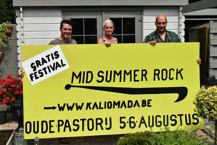 Kali Omada presenteert flitsend Mid Summer Rock!