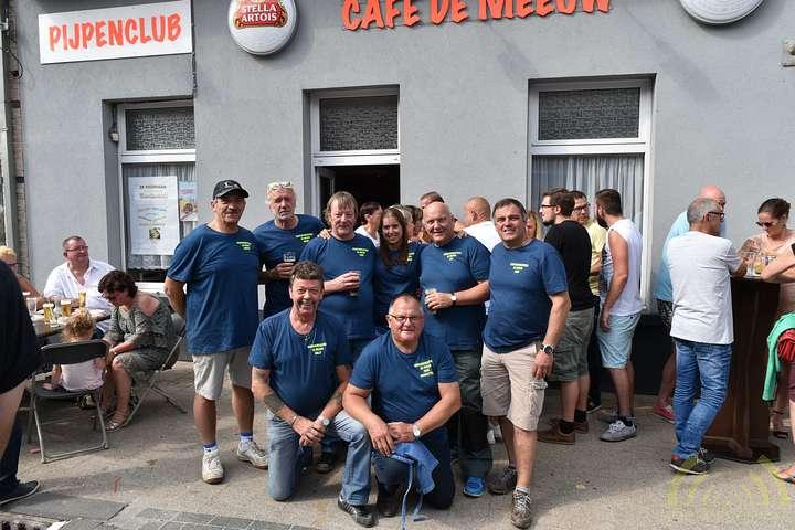 Vijftiende visrookwedstrijd De Knorhaan bij De Meeuw