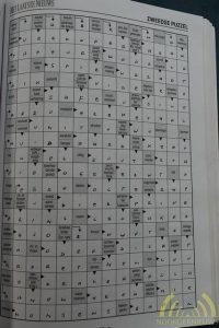 Zweeds kruiswoordraadsel