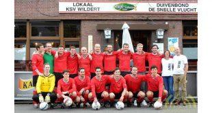 VV De Bosrand met sponsor W&A