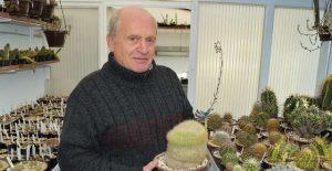 Deze cactus is de laatst overgeblevene van het setje dat Pierre 41 geleden kocht