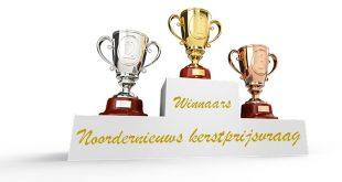 Winnaars Kerstprijsvraag 2016 Noordernieuws.be