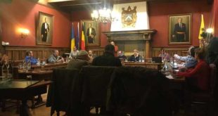 Dinsdag was het weer gemeenteraadsvergadering