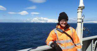 Essense Eveline Pinseel op wetenschappelijke expeditie in Zuidelijke Oceaan