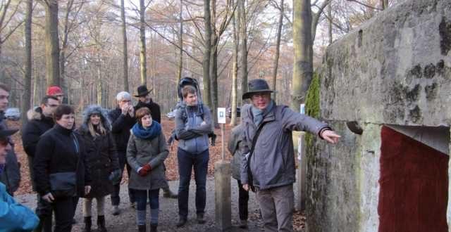 Het Mastenbos tijdens Wereldoorlog I op 26 februari