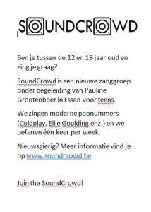SoundCrowd flyer