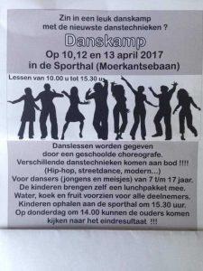 Myrelle's Dance Studio organiseert Paasdanskamp voor kinderen van 7 tot 17 jaar!2
