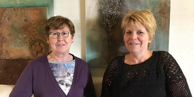 Expositie Viv Schrooyen en Wilma Kielstra groot succes - noordernieuws.be