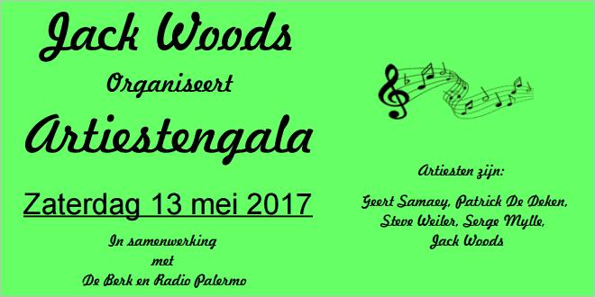 Jack Woods organiseert Artiestengala in Essen - (c) noordernieuws.be - b