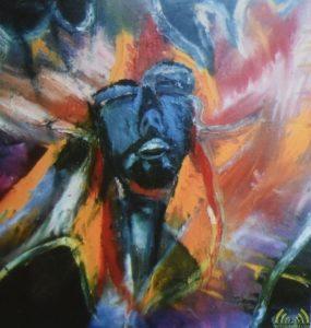 Een van de 12 gestolen schilderijen van kunstschilder Paul Pauli