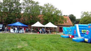 DBC verhuur Springkastelen organiseert Springparadijs op Zorgboerderij Rommeshoef Essen 2