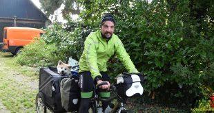 Dimitri Mevensen en Emiel fietsen voor mucoviscidose