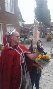Wannes Delrue nieuwe koning Haenrije