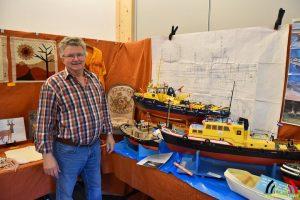 Victor Aerts toont zijn prachtige modelboten