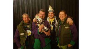 Carnavalsvereniging Den Heikant haalt eerste plaats in Heerle!
