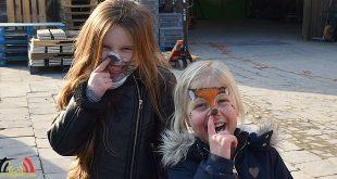 Essen Heikant- Kinderen bezichtigen carnavalswagen - (c) Noordernieuws.be 2018 - DSC_9613u80