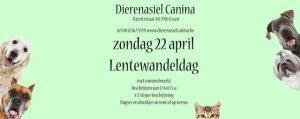 Lentewandeling en rommelmarkt bij dierenasiel Canina