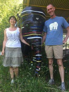 Tony Verhulst en Sofie Goetghebeur
