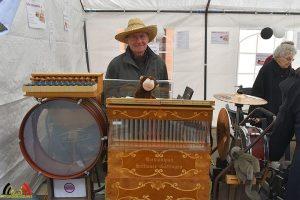 Arthur Cloostermans met orgel De Bijster op Paasmarkt Essen 2018